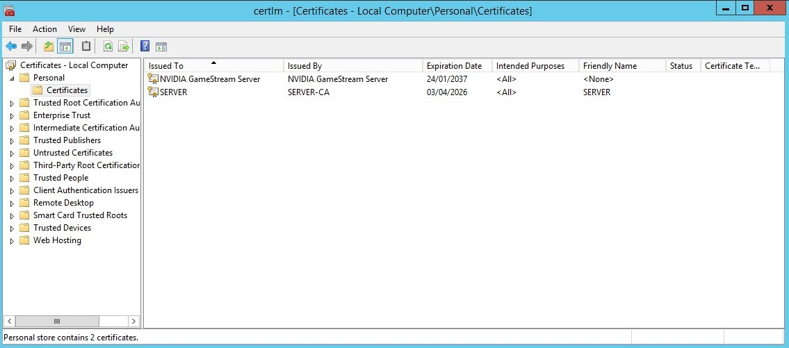Installing A Ssl Certificate To Qlik Sense Enterprise On Windows